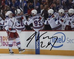 Image is loading Jimmy-Vesey-New-York-Rangers-Autographed-Signed-8x10- dd58abc3b