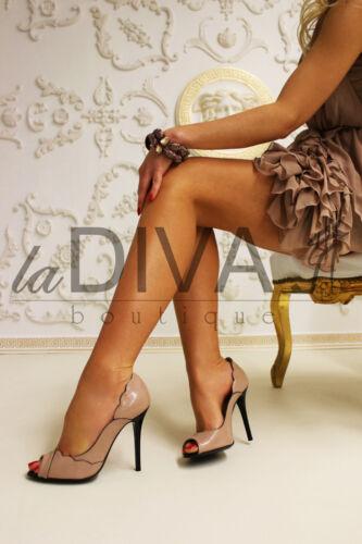 € Peep Talpa Italia 289 Maggio Décolleté 38 Ovp Toe Nude Di vendita Gerardina Leder 7wSqgg