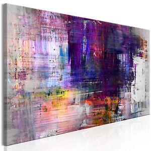 DEKO BILDER Abstrakt LEINWAND Modern Farben Bild ...
