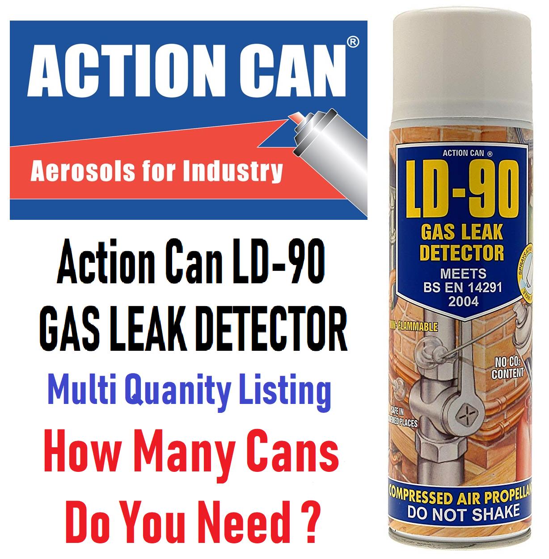 LD 90 Gas Leak Detector 400ml [LD90
