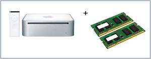 2GB 2x1GB Memory Ram Upgrade Apple Mac Mini1.1 Early 2006 Core Duo 1.66GHz A1176