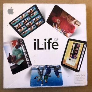Apple-iLife-039-08-Full-Retail-Version-5-User-Family-Computer-Software-Free-Post