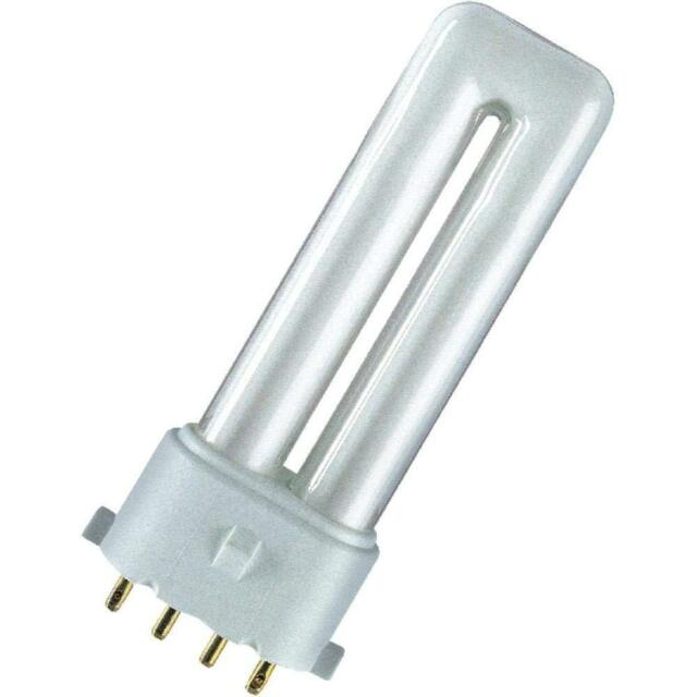 Ge F9BX/840 / 4P BIAX S/E 9W Blanc Froid 4000K 4pin Fluorescente Compacte