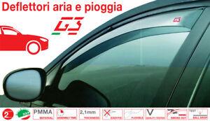 DEFLETTORI ARIA PIOGGIA ANTITURBO per FIAT PANDA 5 PORTE 2012>2018