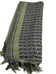 32f180b23f38 100% Woven Cotton Military Shemagh Headscarf Keffiyeh Veil Wrap ...