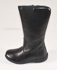 Primigi Dora Girls Black Zip Leather Boots UK 8 EU 26 US 8.5