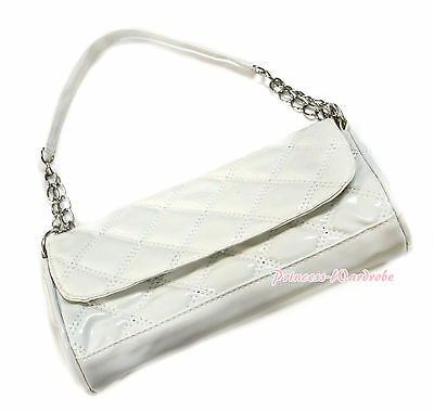 Girl Women Adult Various Color Long Diamond Check Plaid Shoulder Handbag Purse