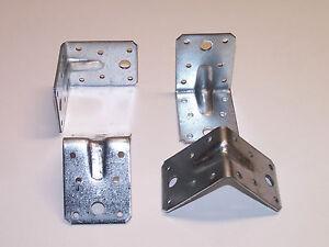 Metallwinkel mit Steg Rippe 70x70 Winkelverbinder Bauwinkel Winkel Zulassung,W7