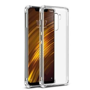 For-Xiaomi-Pocophone-F1-Case-Clear-Silicone-Slim-Gel-Cover-Shockproof