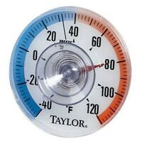 Taylor 5321 Outdoor Stick-on Dial Thermometer