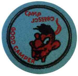 Boy-Scout-Early-Felt-Camp-Josepho-Good-Camper-Patch-Badge-BSA-Merit-Award