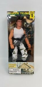 Power-Team-WORLD-Peacekeepers-White-Top-Camo-Bottoms-Action-Figure-12-034-New
