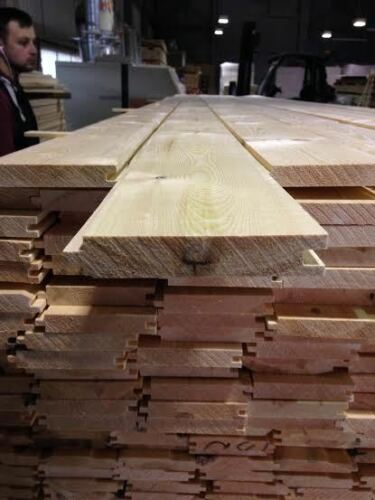 Pine Timber T/&G Floorboard 110 X 20mm 2.1MTR X 4 Lengths