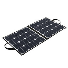 12 Volts 100 Watts Portable100W Solar Panel Foldable Solar Panel Charger Kit