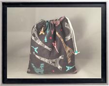 Gymnastics Leotard Grip Bags /  Elegant Eiffel Tower Gymnast Birthday Goody Bag