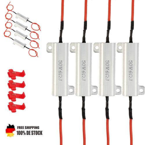 4 Widerstand Widerstände Lastwiderstand 12V 50W 6Ohm LED Drahtwiderstand Hochlas