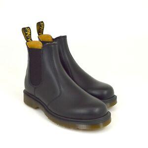 Dr-Martens-2976-Chelsea-Boots-11853001-Black-Smooth-Leder-Neu