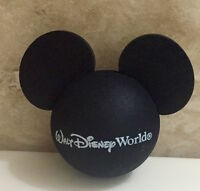 "DISNEY MICKEY MOUSE BLACK CAR ANTENNA AERIAL TOPPER BALL - NEW ""o"""