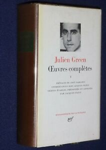LA-PLEIADE-Julien-Green-OEUVRES-COMPLETES-tome-1-1985-tbe