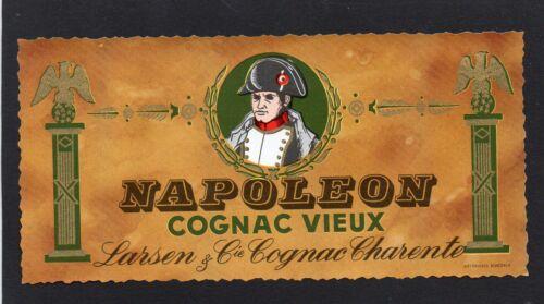 COGNAC ETIQUETTE NAPOLEON COGNAC VIEUX LARSEN /& CIE  §03//10//16§