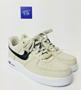 reputable site 7a4d5 e7565 Men's Nike Air Force 1 '07 N7 Low Top AO2369-001 Size 6.5 Canvas ...