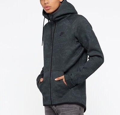 Dettagli su Nike TECH FLEECE Full Zip Felpa con Cappuccio Invernale Giacca Cappotto Da Uomo Taglia S M L mostra il titolo originale