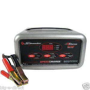 schumacher 12v automotive car deep cycle agm gel cell electric battery charger ebay. Black Bedroom Furniture Sets. Home Design Ideas