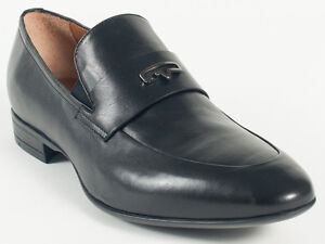 Details about New Vittorio Virgili Black Leather Made in Italy Shoes Size  42 US 9