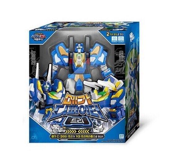 Dino Core 4 Evolution Mega D-Fighter TRI Transformer Robot Toys Hobbies Kids