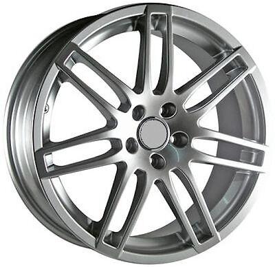 OE Wheels 17 Inch Fit Audi RS4 Hyper Silver 17x7.5 Rims SET