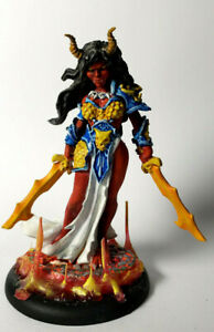 Female-Efreet-painted-D-amp-D-Mini-miniature-dungeons-and-dragons-plastic-Reaper