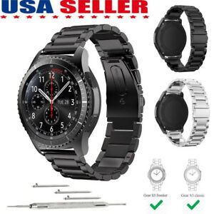 Stainless-Steel-Watch-Strap-Band-For-Samsung-Gear-S3-Classic-S3-Frontier