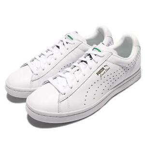 Puma Court Star NM Triple White Gold Leather Men Casual Shoes ... a71e525d5