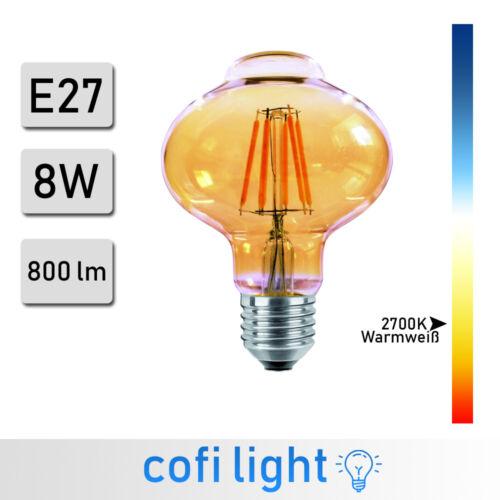 E27 E14 Vintage Edison LED Light Bulbs Filament Lamp Warm White Retro Lighting