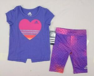 Infant Girl's Jacket and Pieced Tight Set