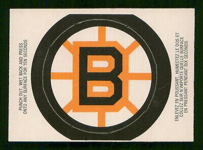BOSTON BRUINS 1973-74 O-PEE-CHEE TEAM LOGOS 1973-74 VGEX+ ... Bruins Roster 1973