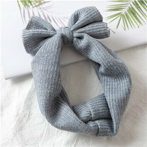 Knitted Headband Baby Crochet Winter Warm Hairband Cute Hair Band Headwrap
