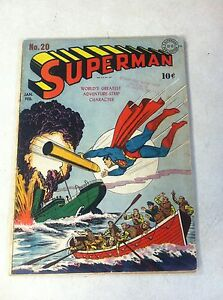 SUPERMAN-20-SIEGEL-SHUSTER-1942-DC-CLARK-KENT-REALLY-SUPERMAN