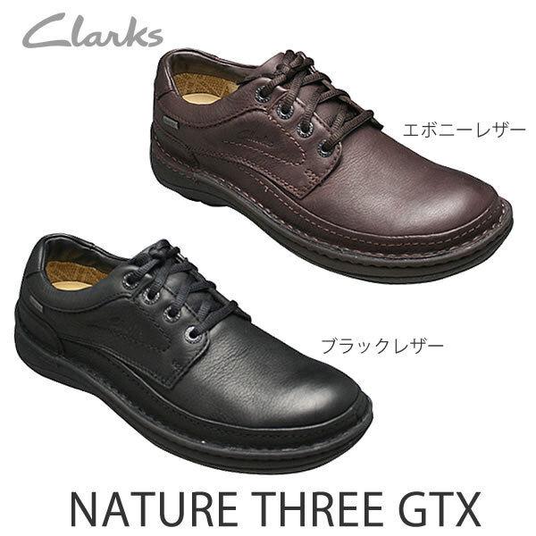 Clarks Homme  NATURE 11 GTX  Imperméable, ébène LEA  UK 6.5 US 7.5