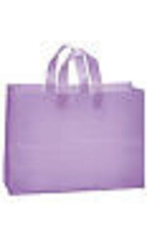 """/""""LAVENDER/"""" frosted shopping bags 100 VOGUE 16X6X12"""