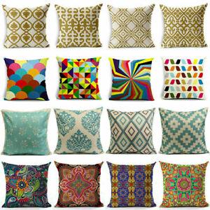 Boho-Style-Vintage-Colorful-Geometric-Cotton-Linen-Pillow-Case-Cushion-Cover