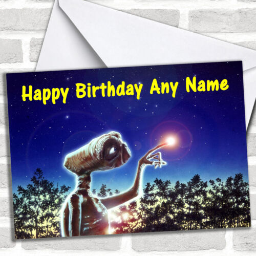ET Birthday Customised Card
