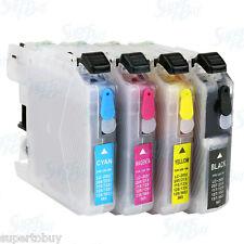 Refillable Cartridge SET for Brother LC203 MFC J885DW J4625DW J5320DW HL-2275DW
