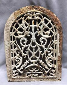 Antique Cast Iron Arch Decorative Heat Grate Register 9X12 Dome Vintage 29-19C
