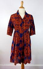 Anthropologie Odd Molly Boho Silk Cotton Tunic Shirt Dress 1 S Purple Orange