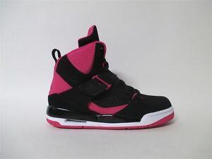Mus Rendición educación  Nike Air Jordan Flight 45 High IP Black Pink GS Grade School Sz 5  837024-008 | eBay