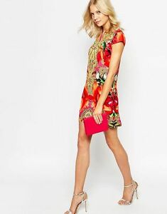 521464d61 Image is loading Ted-Baker-034-Aalia-Toucan-039-Print-Tunic-