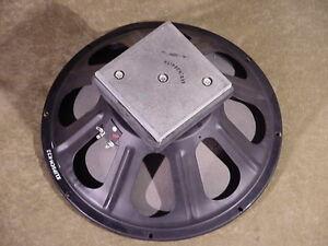 """Vintage Klipsch K-33 woofer loudspeaker 15"""" speaker square"""