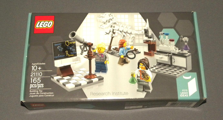 Lego exclusivo Instituto de investigación conjunto 21110 Lego ideas  008 Nuevo Sellado