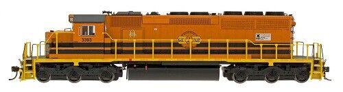 N Intermountain 69368D-04 SD40-2 Genessee & Wyoming rcpe  3423 DCC se instalaron nuevos en caja